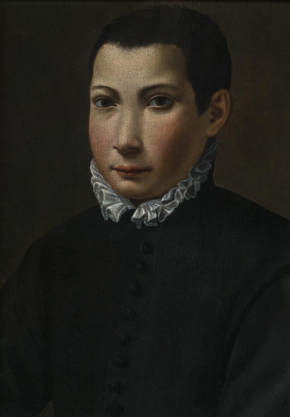 Alessandro   Allori   Portrait of Don Antonio de' Medici