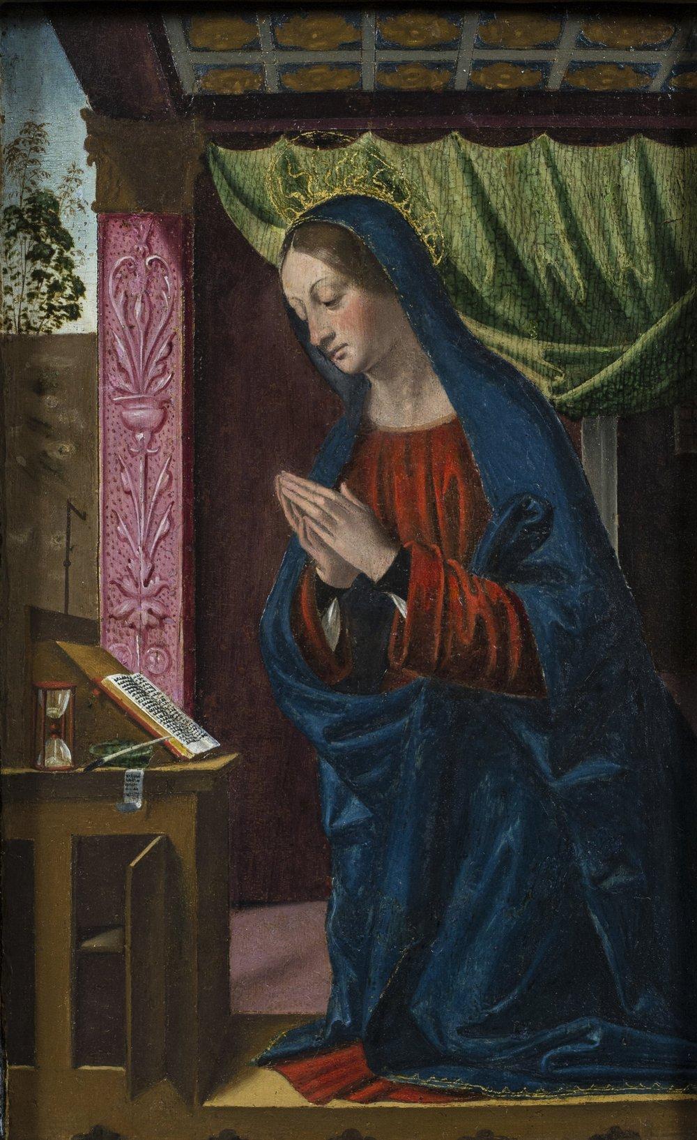 Domenico  Panetti,   The Virgin Praying