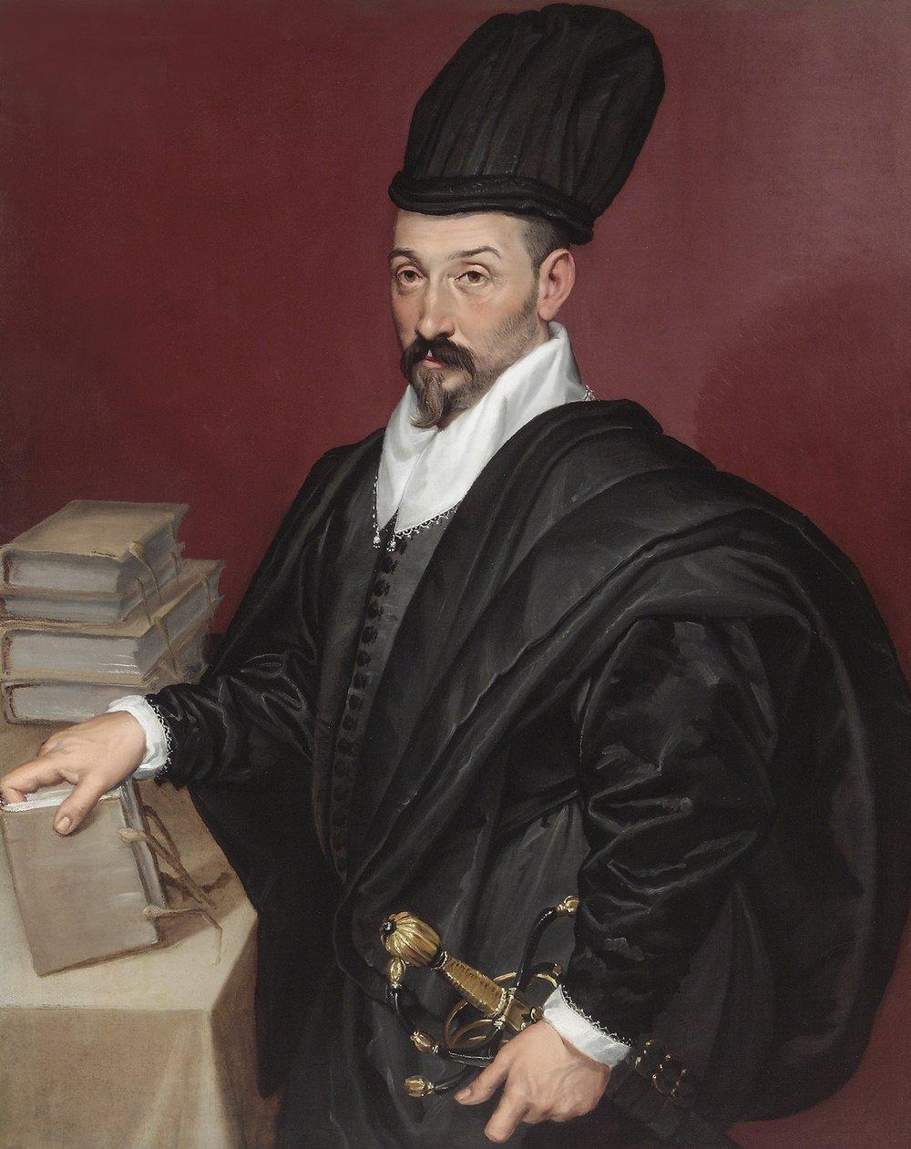 Bartolomeo   Passarotti   Portrait of Don Lope Varona di Villanahue