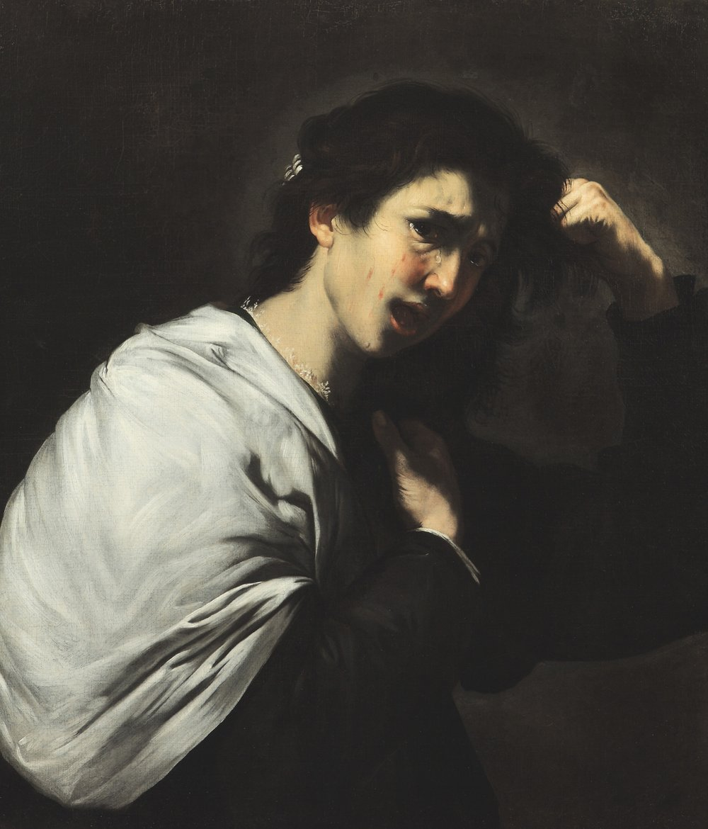Jusepe de   Ribera   A Desperate Woman (Tamar