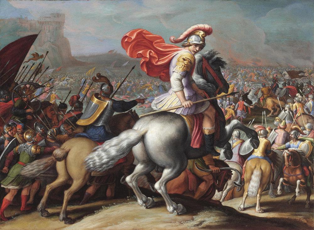 Antonio   Tempesta   Battle Scene (Alexander the Great Battling the Persians?)