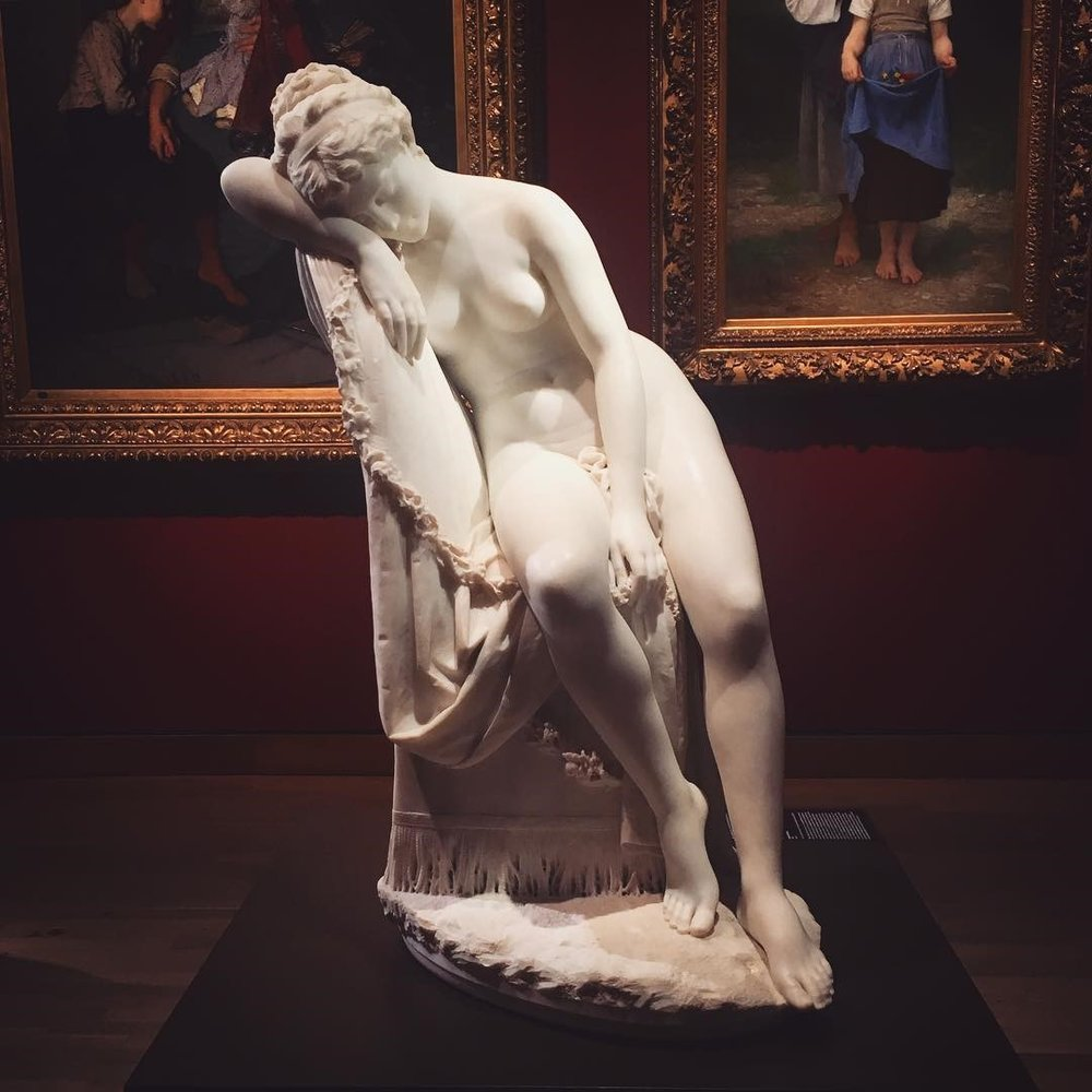 Albano:  Nymph Reclining  (Montreal)
