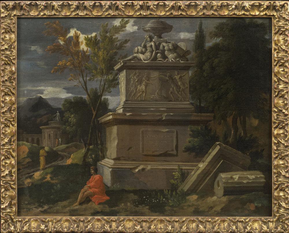 Jean-François Millet the Younger,  A Capriccio of Roman Ruins