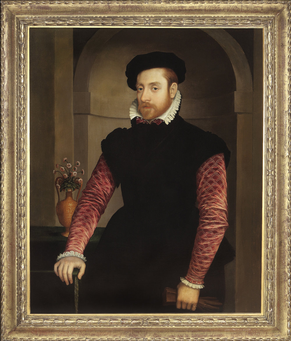 Nicolas Neufchatel,  Portrait of a Man