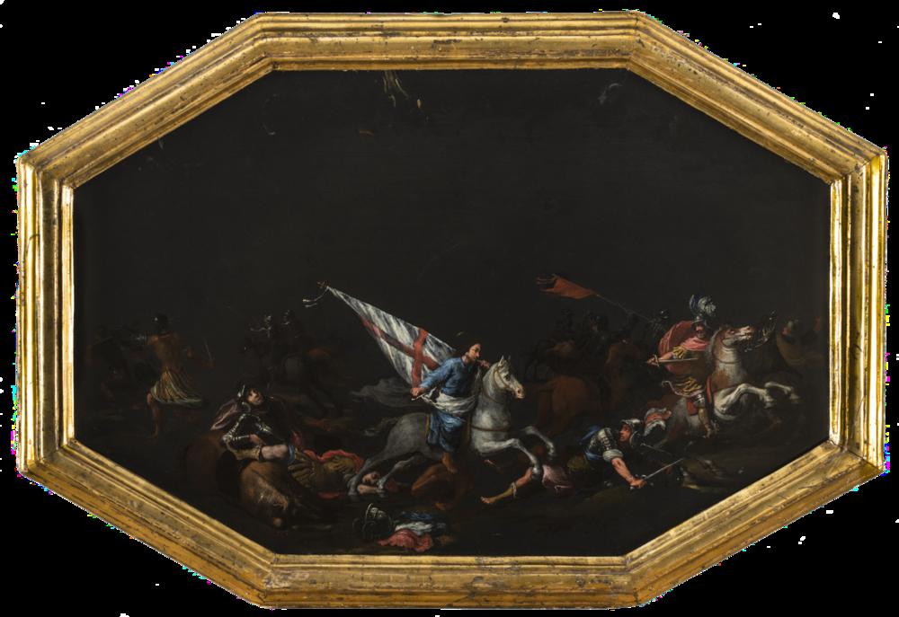 Filippo Napoletano, The Apparition of St. James at the Battle of Clavijo