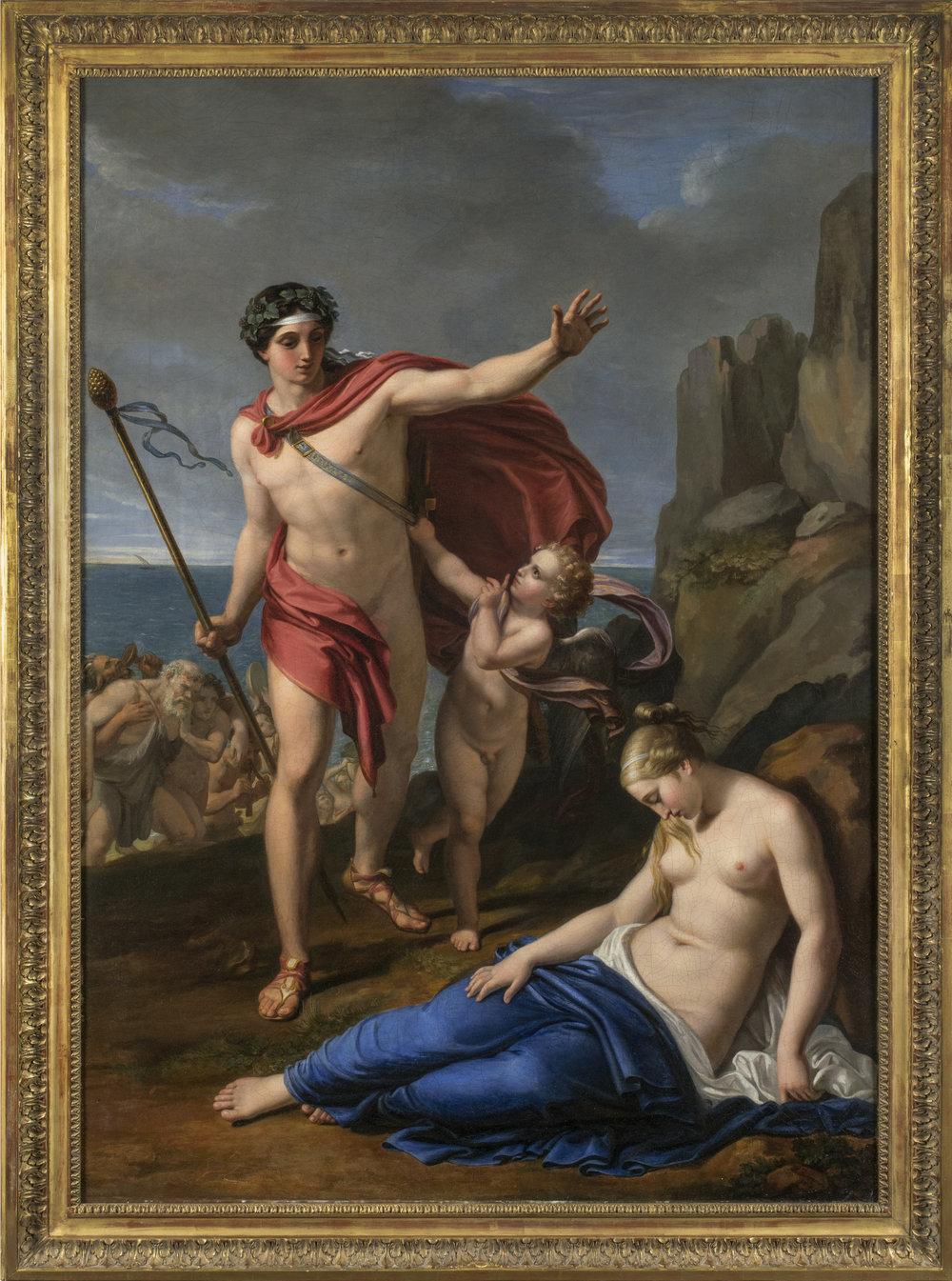 Pietro Benvenuti,  Bacchus and Ariadne