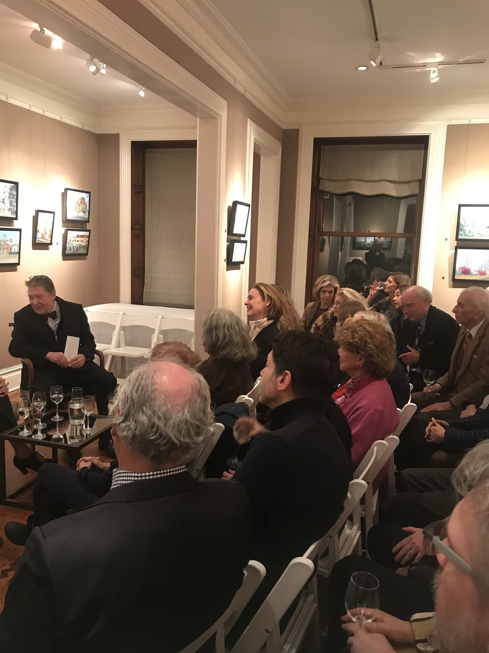 PAMELA TALESE THE ARTIST IN CONVERSATION WITH ROBERT SIMON AND LUIGI BALLERINI - View 4