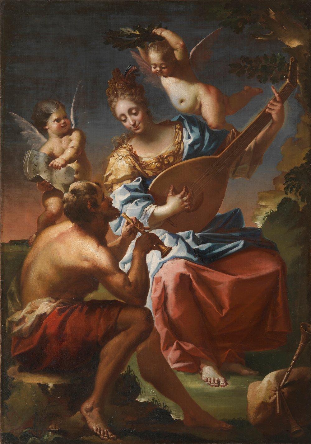 Francesco Conti,  Allegory of Music
