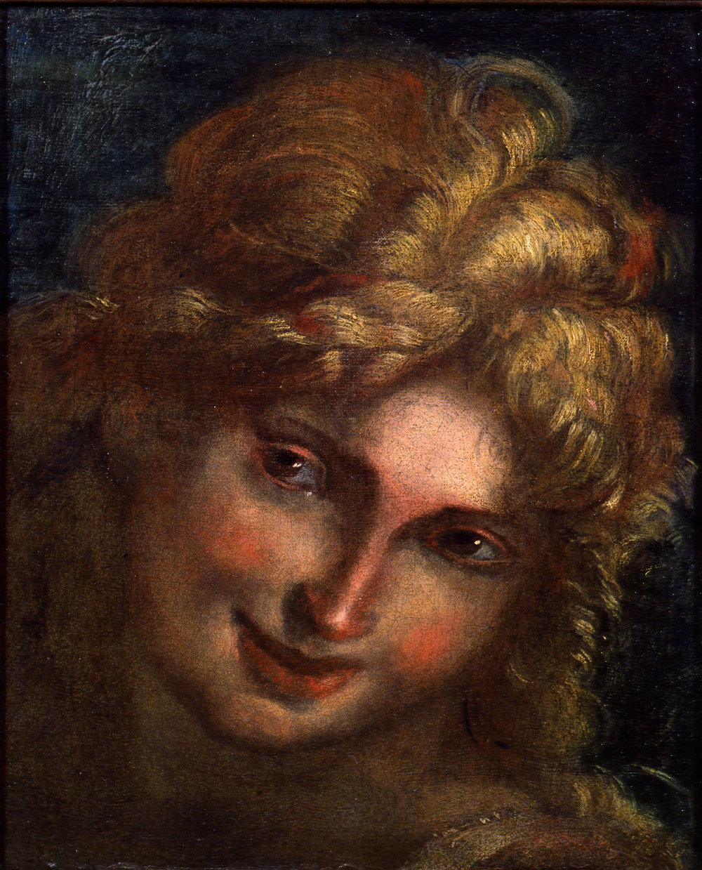 Giulio Cesare Procaccini,  Head of an Angel