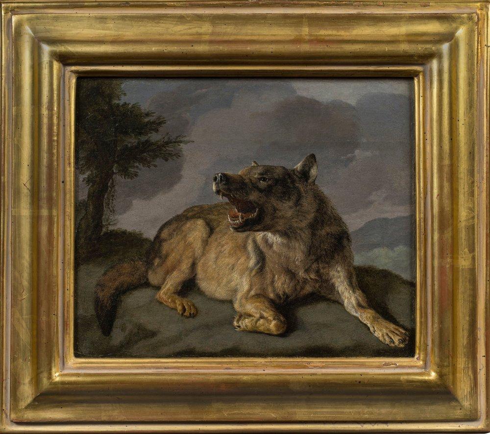 Carl Borromaus Andreas Ruthart,  A Wolf