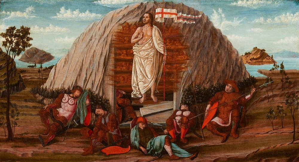 Attributed to Francesco del Cossa,  The Resurrection of Christ