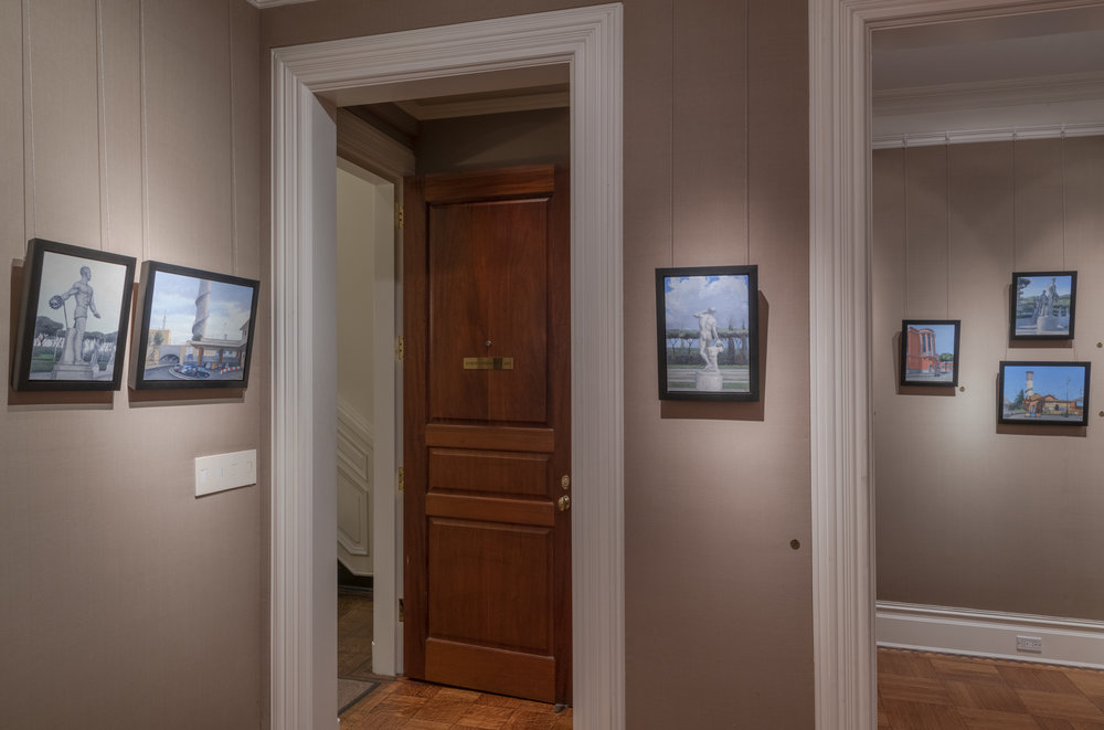 PAMELA TALESE THE THIRD ROOM INSTALLATION VIEW 2