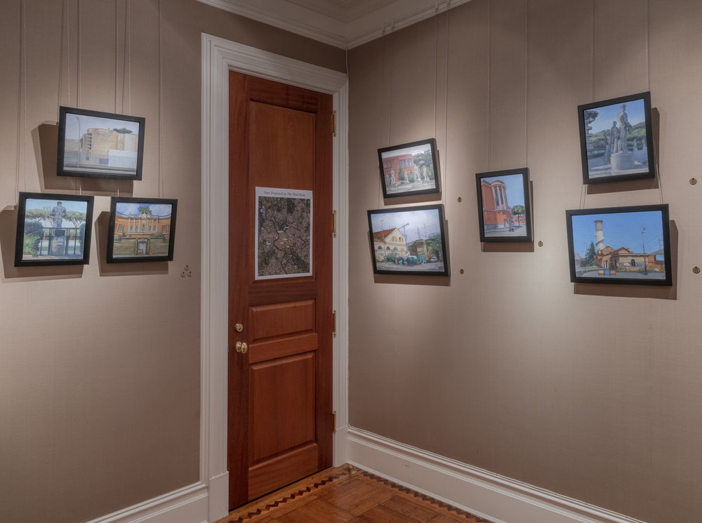 PAMELA TALESE THE THIRD ROOM INSTALLATION VIEW 4