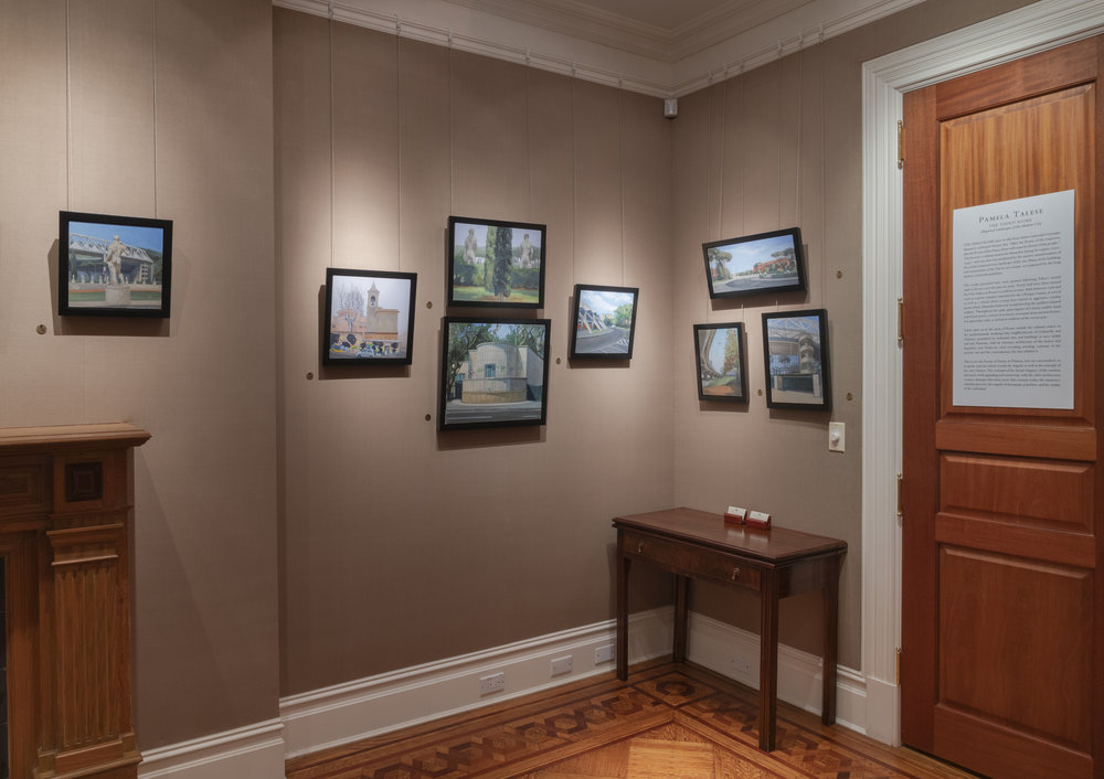 PAMELA TALESE THE THIRD ROOM INSTALLATION VIEW 5