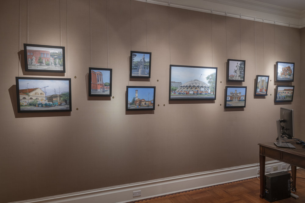 PAMELA TALESE THE THIRD ROOM INSTALLATION VIEW 6