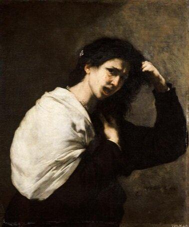 Jusepe De Ribera, A Desperate Woman (Tamar?) (Bayonne, Musée Bonnat)