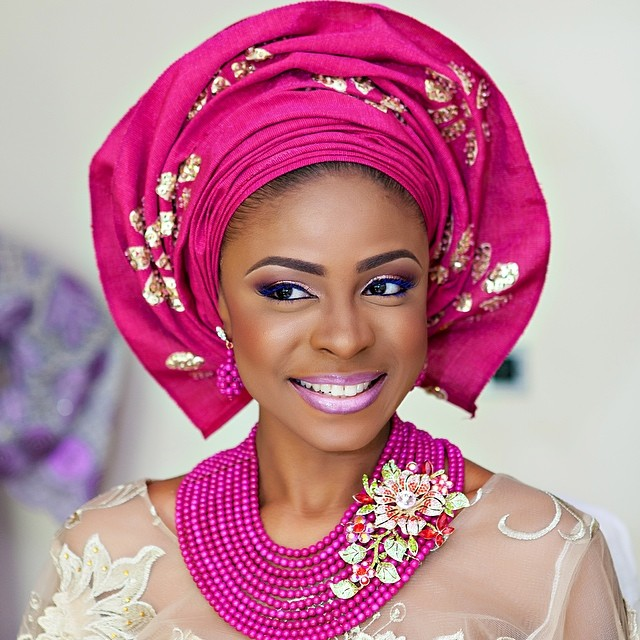 The Nigerian Gele Head Wrap