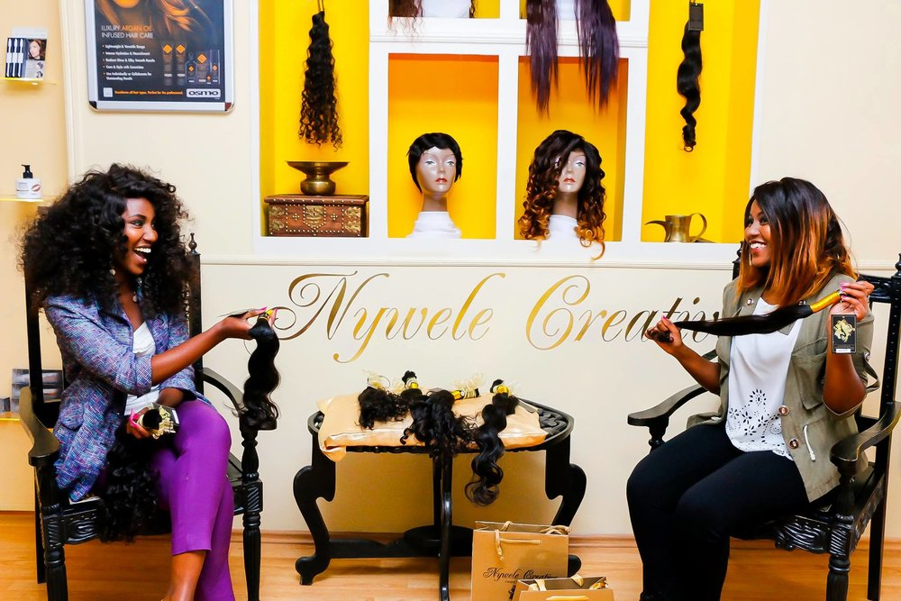 NYWELE CREATIVE LUXURY HAIR BOUTIQUE IN NAIROBI, KENYA