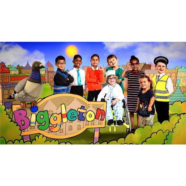 I hope everyone's kids caught the first episode of the 2nd series of Biggleton on CBeebies this morning, and enjoyed it as much as we did creating it!  We had an incredible summer making this with the best team!! Great to see some familiar faces and some great new ones!! #bigglewiggle #highfiveteamwork