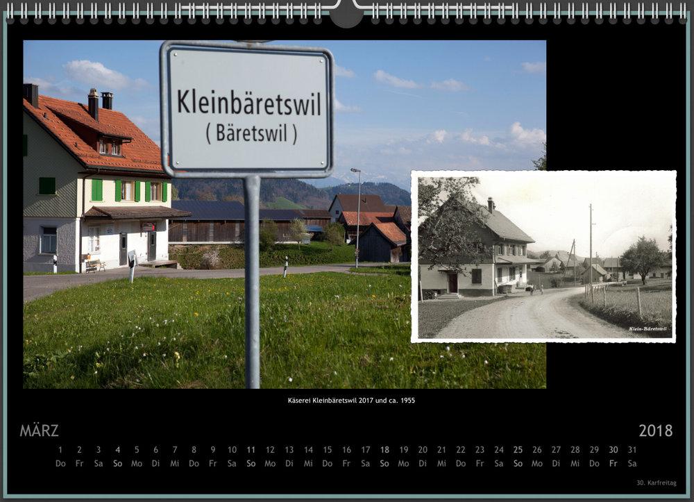 Sennhütte Kalender