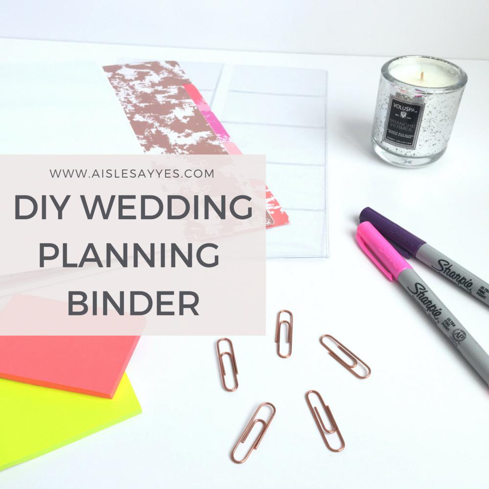 AisleSayYes_PamelaLittlejohn_NCWeddingPlanner_CharlotteWeddingPlanner_PlanningBinder_WeddingBinder