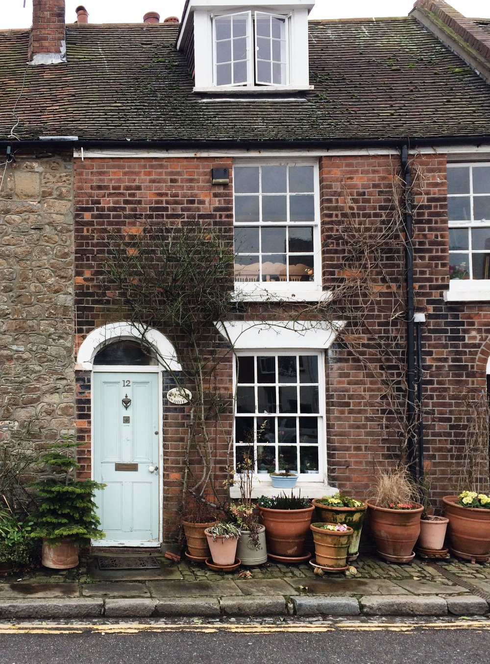 Quaint cottages at the Bayle by Small Acorns.JPG