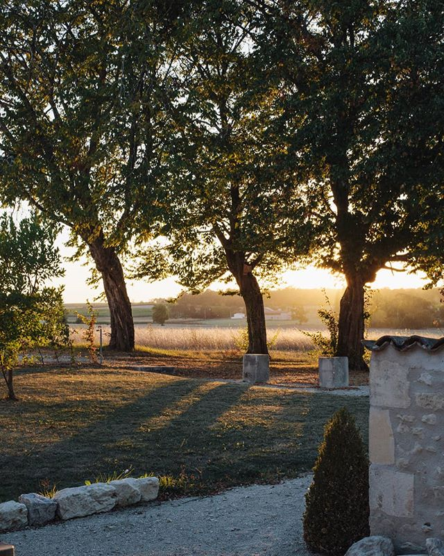 Glorious sunset at @lacannonerie. We are in the planning stages for our retreat next year. Balmy mid-summer in June, with fields of sunflowers and heady warm nights. If you want to know when tickets go on sale, sign up to our mailing list, by heading to the link in profile. photo by @marrbell #sisterhoodcampretreats