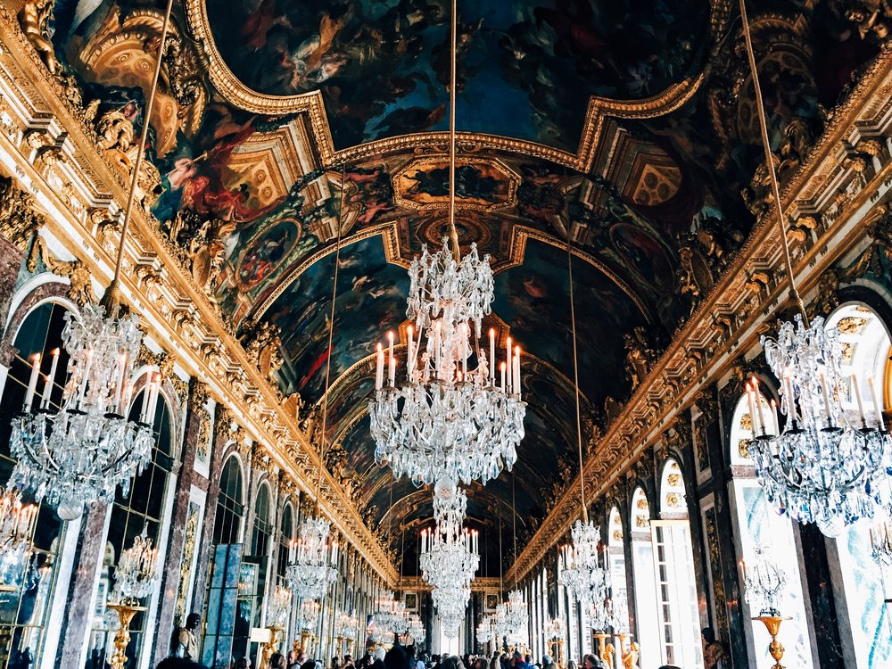 Palace of Versailles- Hall of Mirrors