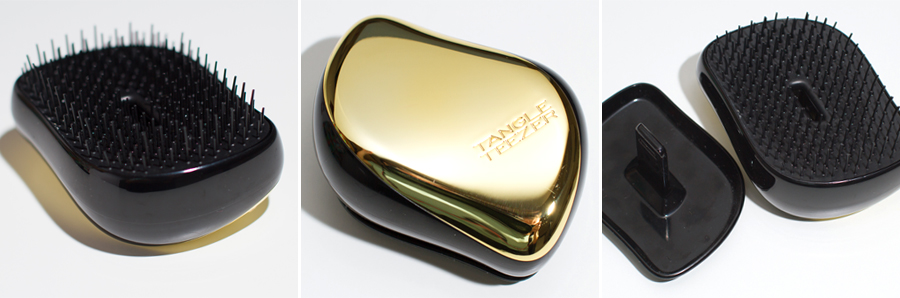 Moja (druga już) szczotka Tangle Teezer – zamykany Gold Rush Compact Styling