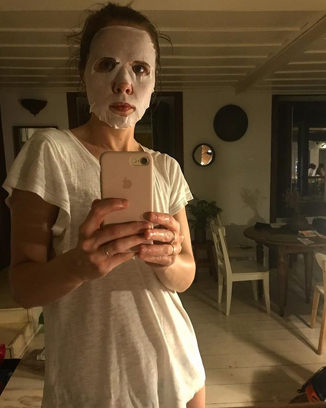 Hanibal in Lisbon. #missha #sheetmask  #skin #beautyeditor