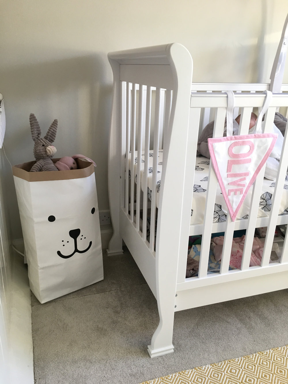 personalised details to olives room