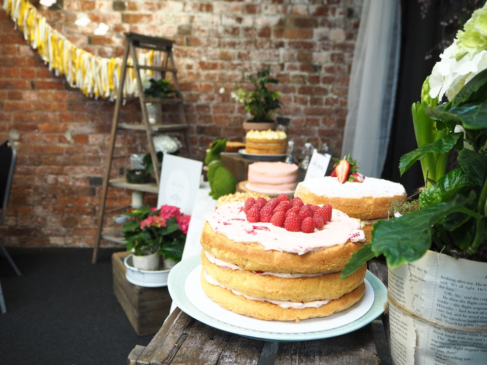 Cakes galore in the Markets VIP space.