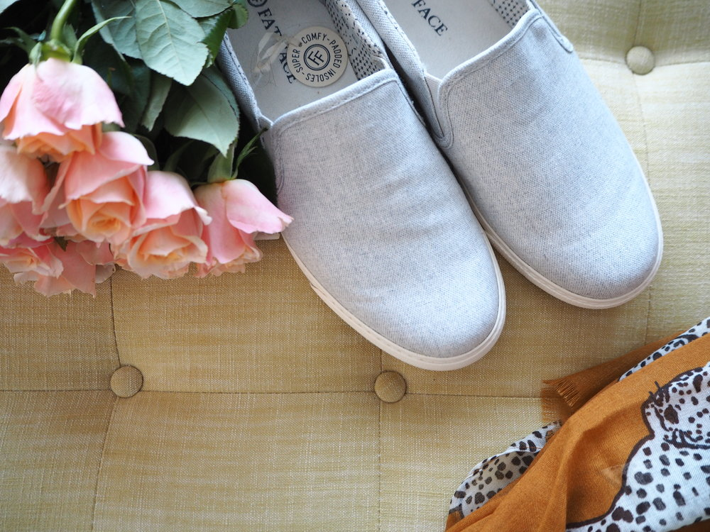 Stoneby Slip on Trainers by Fat Face