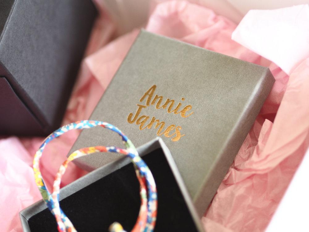 Annie James, Liberty Mama bracelet. Tap image to shop.