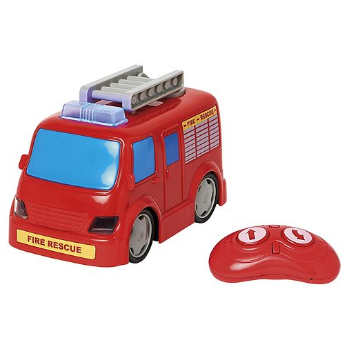 Carousel Drive and talk Fire Engine. - £15