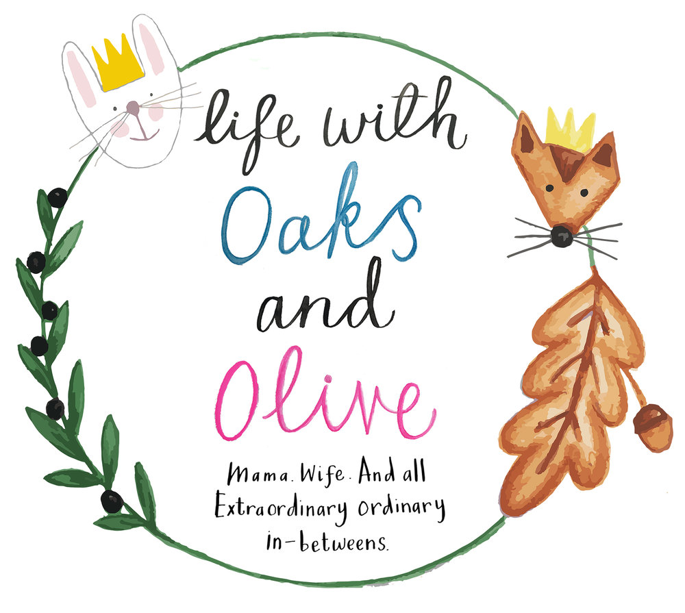 life with oaks and olive blog