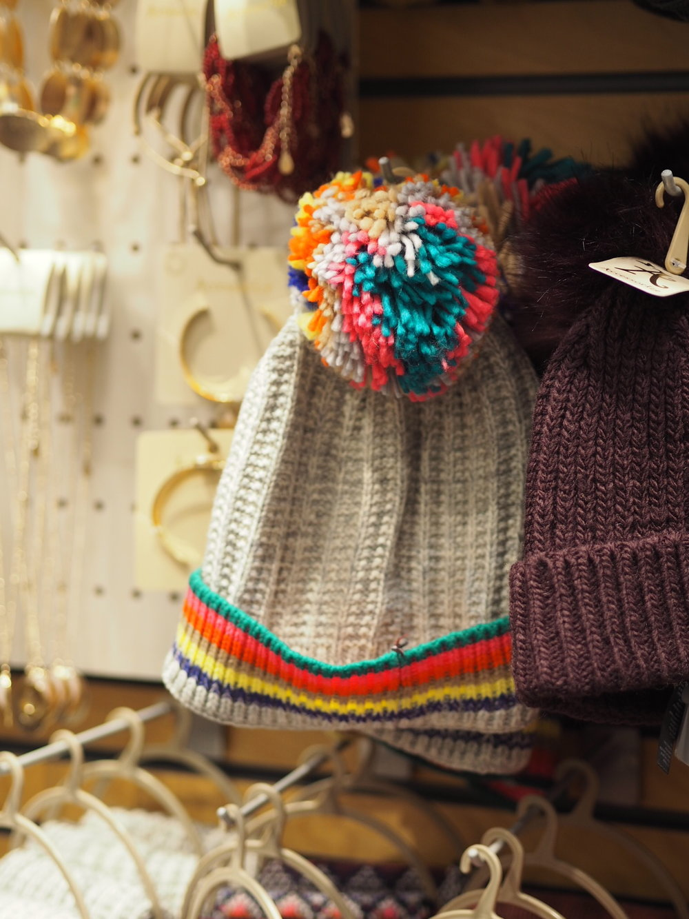 Wooly Rainbow Hat- £17.50