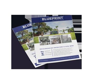 Blueprint Real Estate Flyer