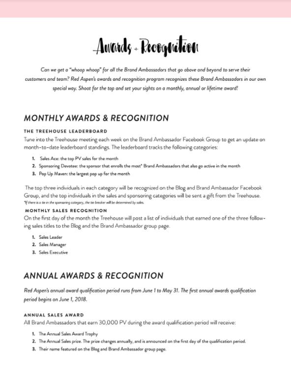 Awards & Recognition Program PDF -