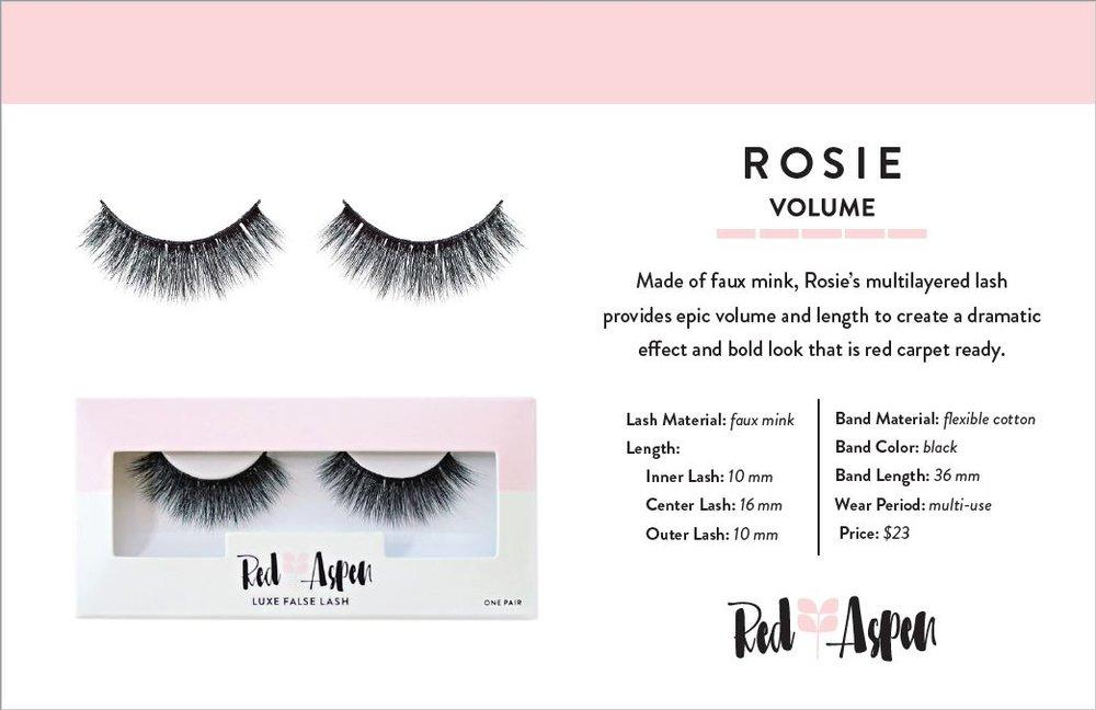 Rosie Spec Sheet -
