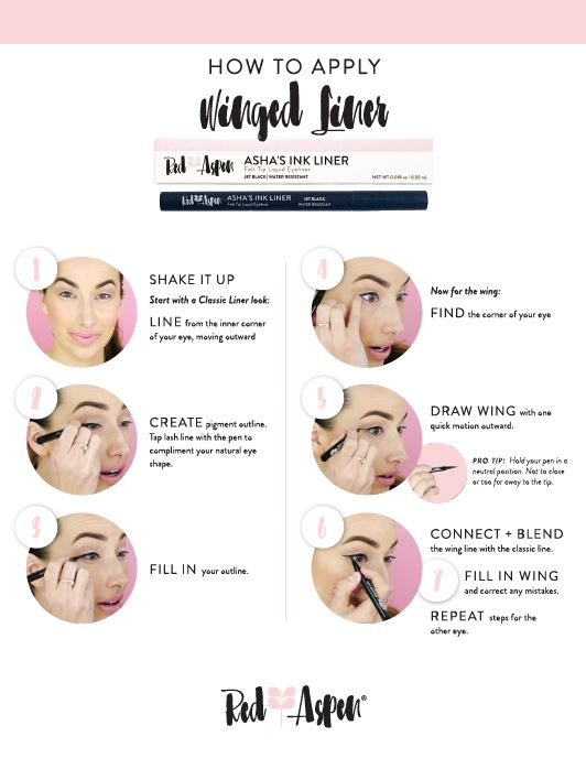 How to Apply - Winged Liner -