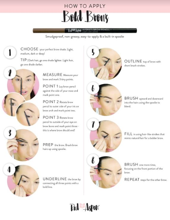How to Apply Bold Brows -