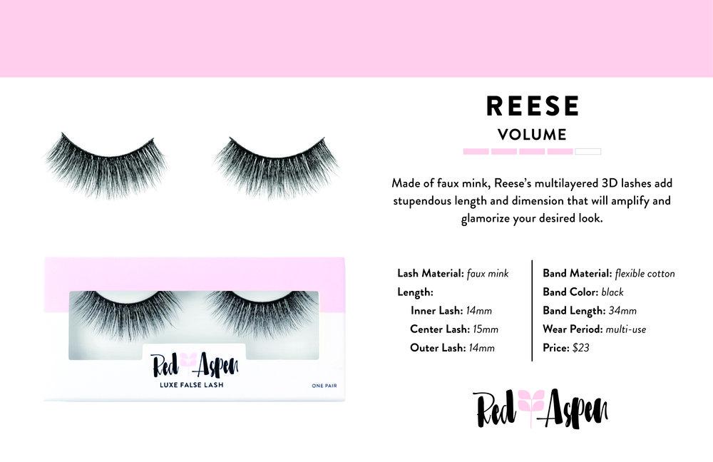 Reese Spec Sheet -
