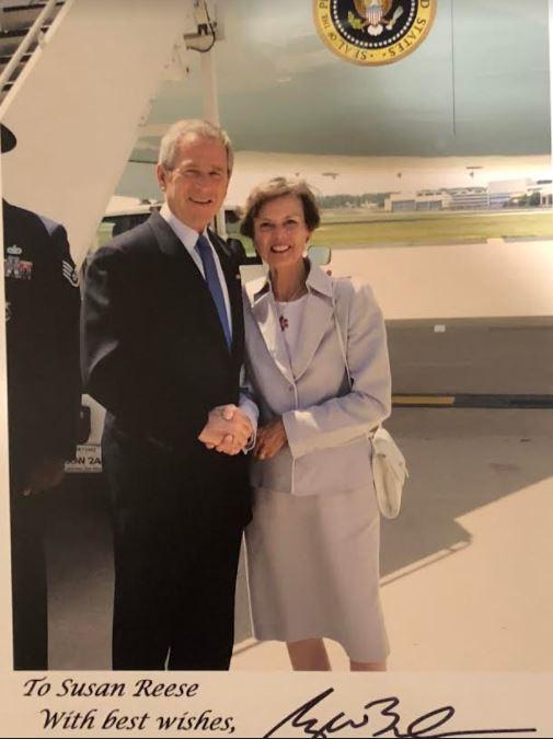 Susu with President Bush