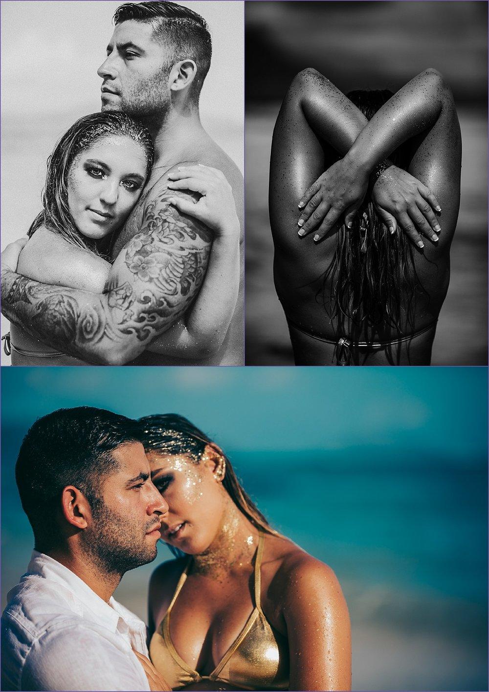 Mermaid Couple Glamour Hawaii Waimanalo beach Styled PhotoShoot - Ketino Photography - Oahu Family and Glamour Photographer.jpg