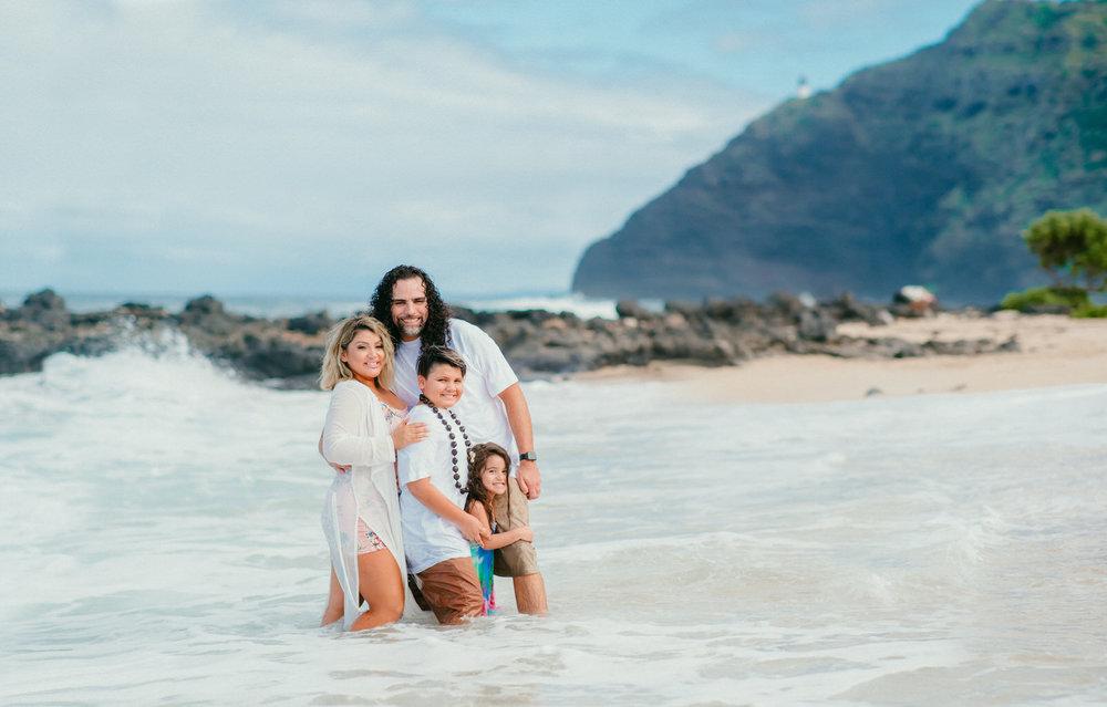 Lopez Family Vacation on Waimanalo Beach - Hawaii Family Photographer - Ketino Photography1-3.jpg