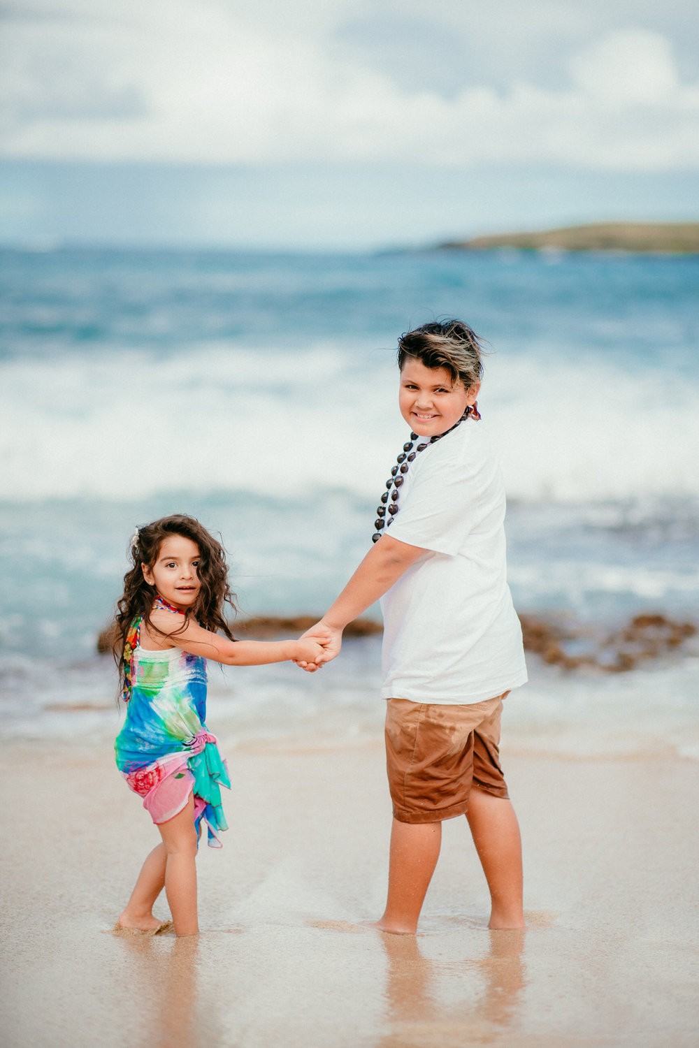 Ketino captured our family vacation fabulously. My little girl didn't want to do anything other than splash in the waves, and Ketino incorporated it into our session and somehow got the whole family involved and I couldn't be happier with how our images turned out