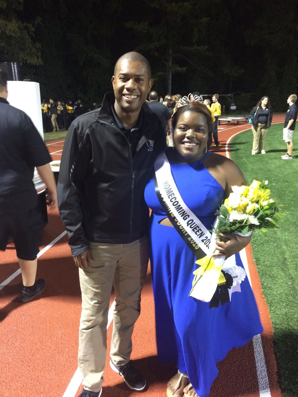 2016 Homecoming Queen & Drum Major Kayla Brown