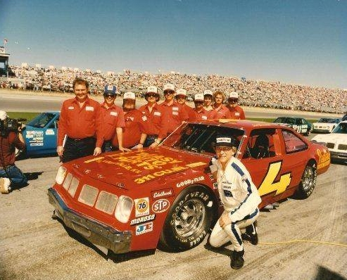 The No. 4 team qualified 6th at Daytona in 1985
