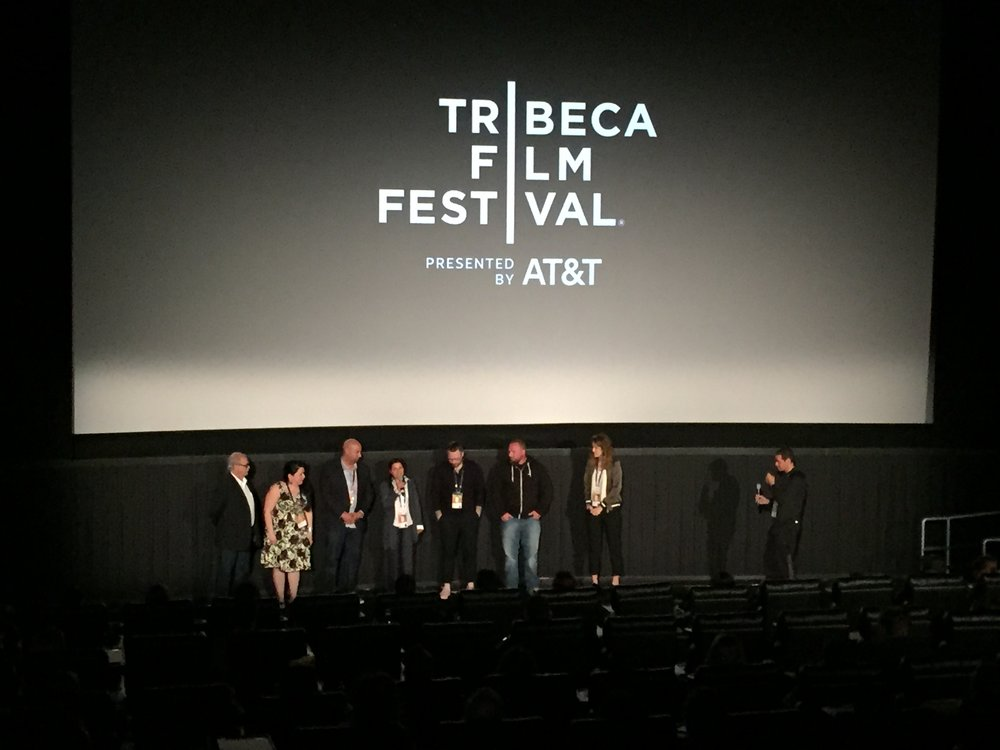 Shooting War premieres to a full house at the Tribeca Film Festival.